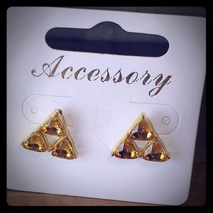 Triforce Shaped Earrings - Legend of Zelda